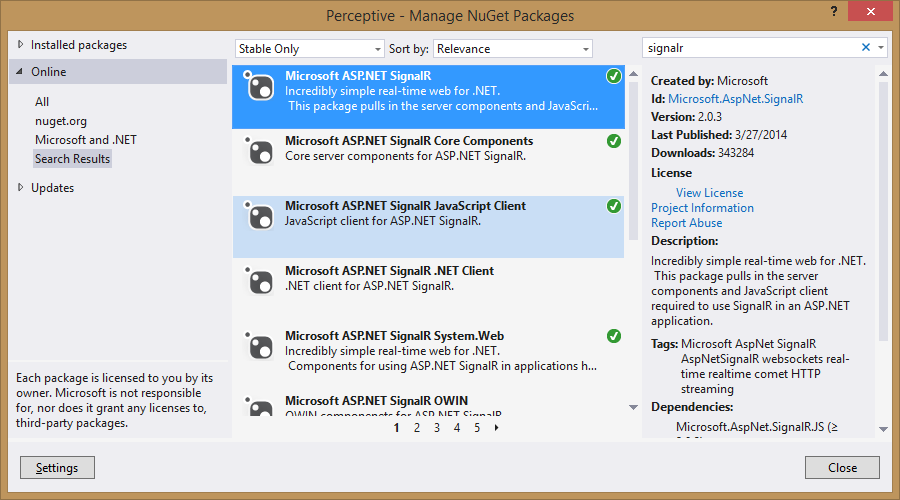 Connection and authentication to SignalR Hub from WPF ...